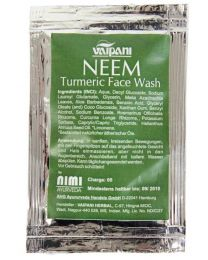 Neem Turmeric Face Wash 4 ml