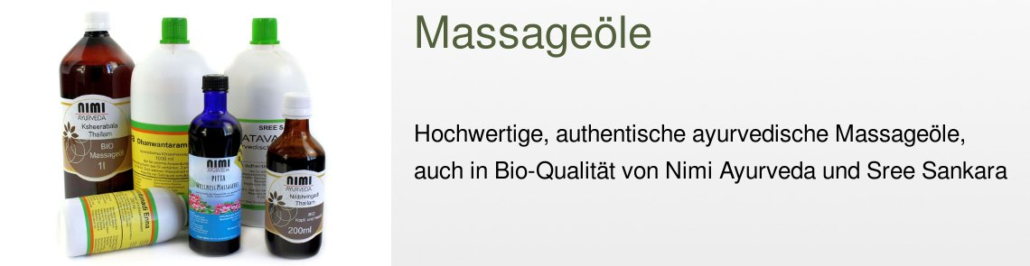 Bio Massageöle